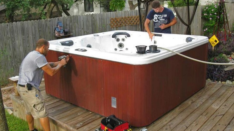 Tips On Relocating A Hot Tub Or Spa